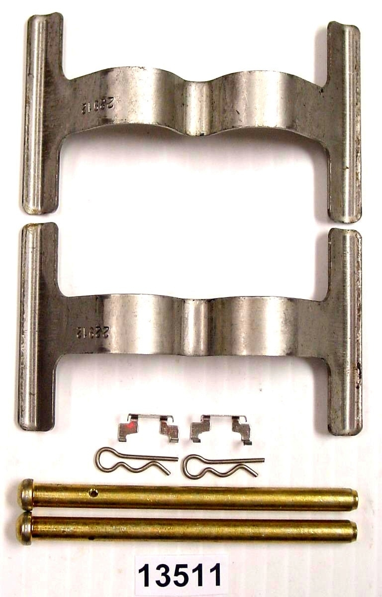 BETTER BRAKE PARTS - Disc Brake Hardware Kit (Rear) - BEB 13511