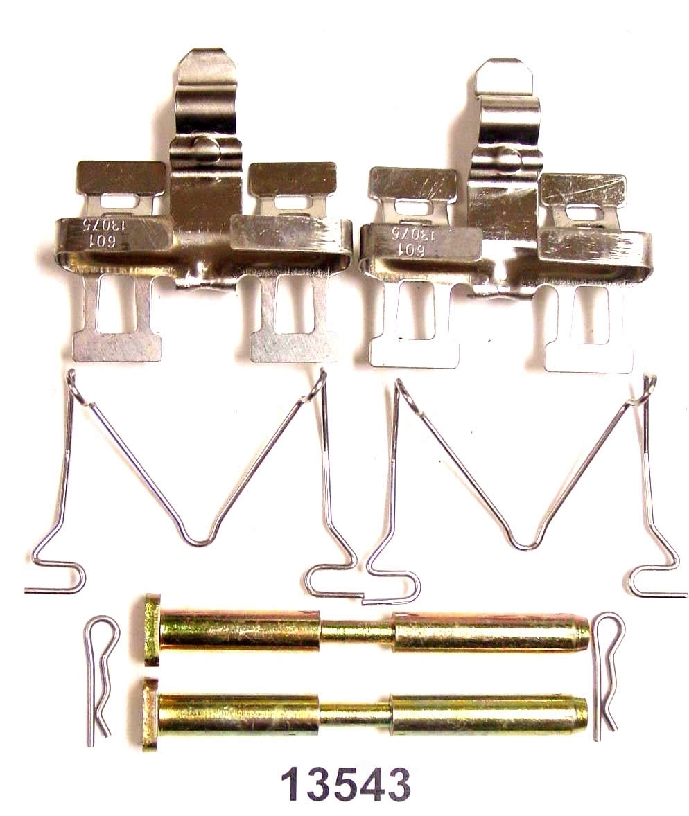 BETTER BRAKE PARTS - Disc Brake Hardware Kit (Rear) - BEB 13543
