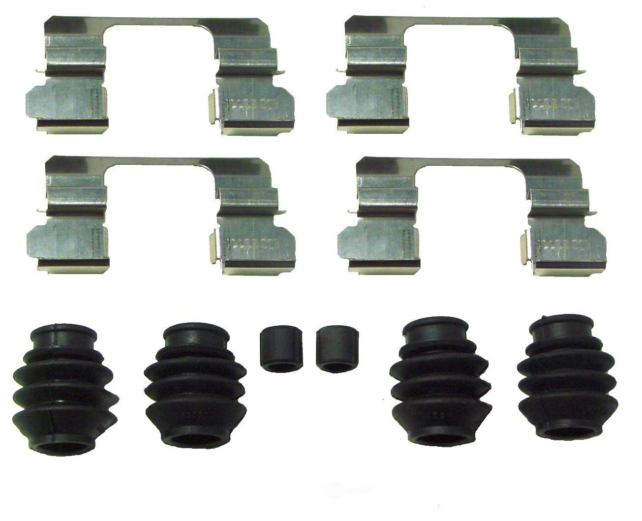 BETTER BRAKE PARTS - Disc Brake Hardware Kit (Front) - BEB 13595