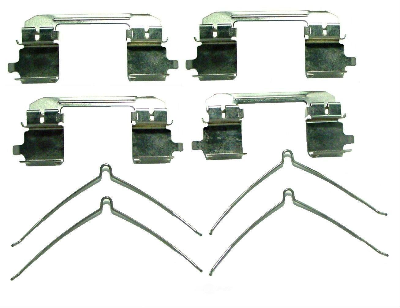 BETTER BRAKE PARTS - Disc Brake Hardware Kit (Front) - BEB 13698