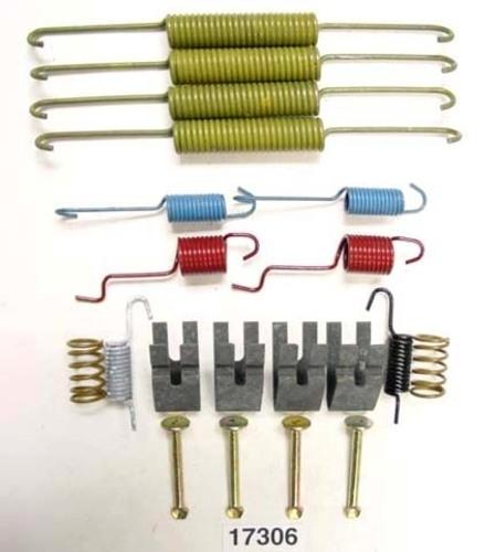 BETTER BRAKE PARTS - Drum Brake Hardware Kit (Rear) - BEB 17306