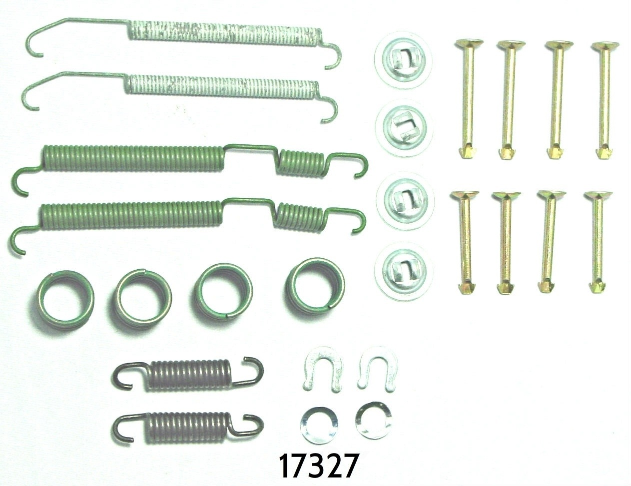 BETTER BRAKE PARTS - Drum Brake Hardware Kit (Rear) - BEB 17327