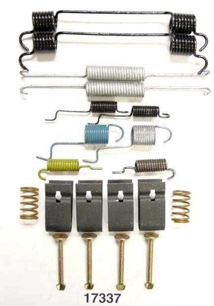 BETTER BRAKE PARTS - Drum Brake Hardware Kit (Rear) - BEB 17337