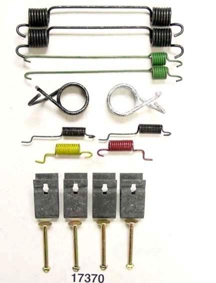 BETTER BRAKE PARTS - Drum Brake Hardware Kit (Rear) - BEB 17370