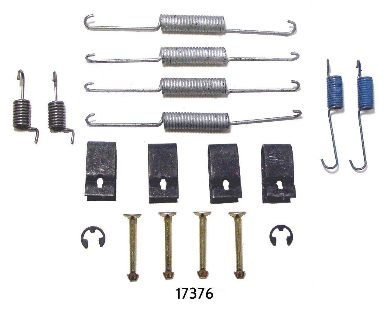 BETTER BRAKE PARTS - Drum Brake Hardware Kit (Rear) - BEB 17376