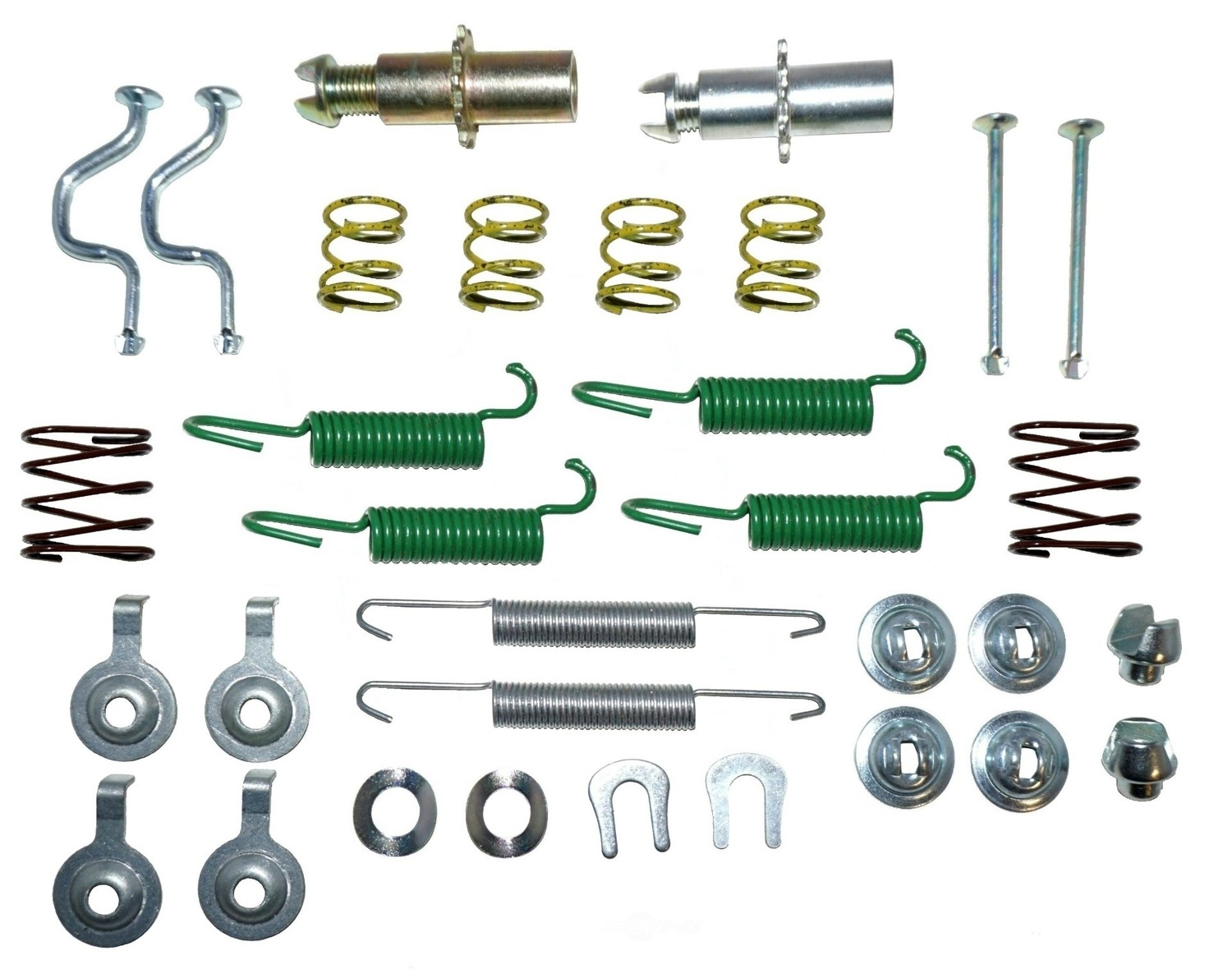 BETTER BRAKE PARTS - Parking Brake Kit - BEB 17395