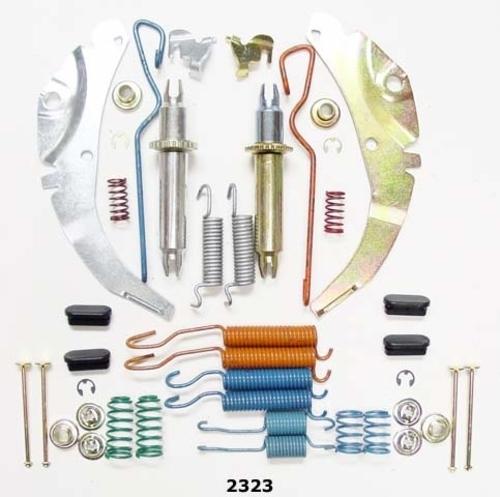 BETTER BRAKE PARTS - Drum Brake Complete Kit - BEB 2323