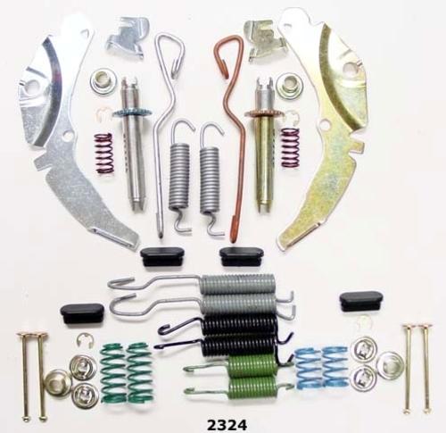 BETTER BRAKE PARTS - Drum Brake Complete Kit - BEB 2324