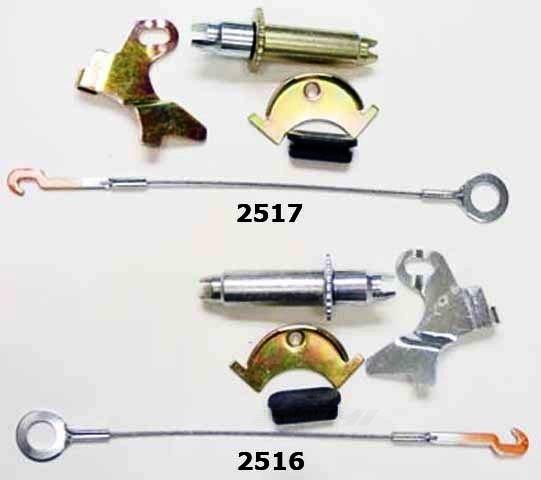 BETTER BRAKE PARTS - Drum Brake Self Adjuster Repair Kit - BEB 2516