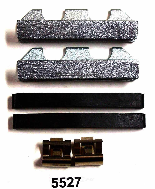 BETTER BRAKE PARTS - Disc Brake Hardware Kit - BEB 5527
