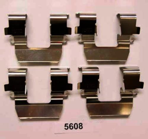 BETTER BRAKE PARTS - Disc Brake Hardware Kit (Front) - BEB 5608
