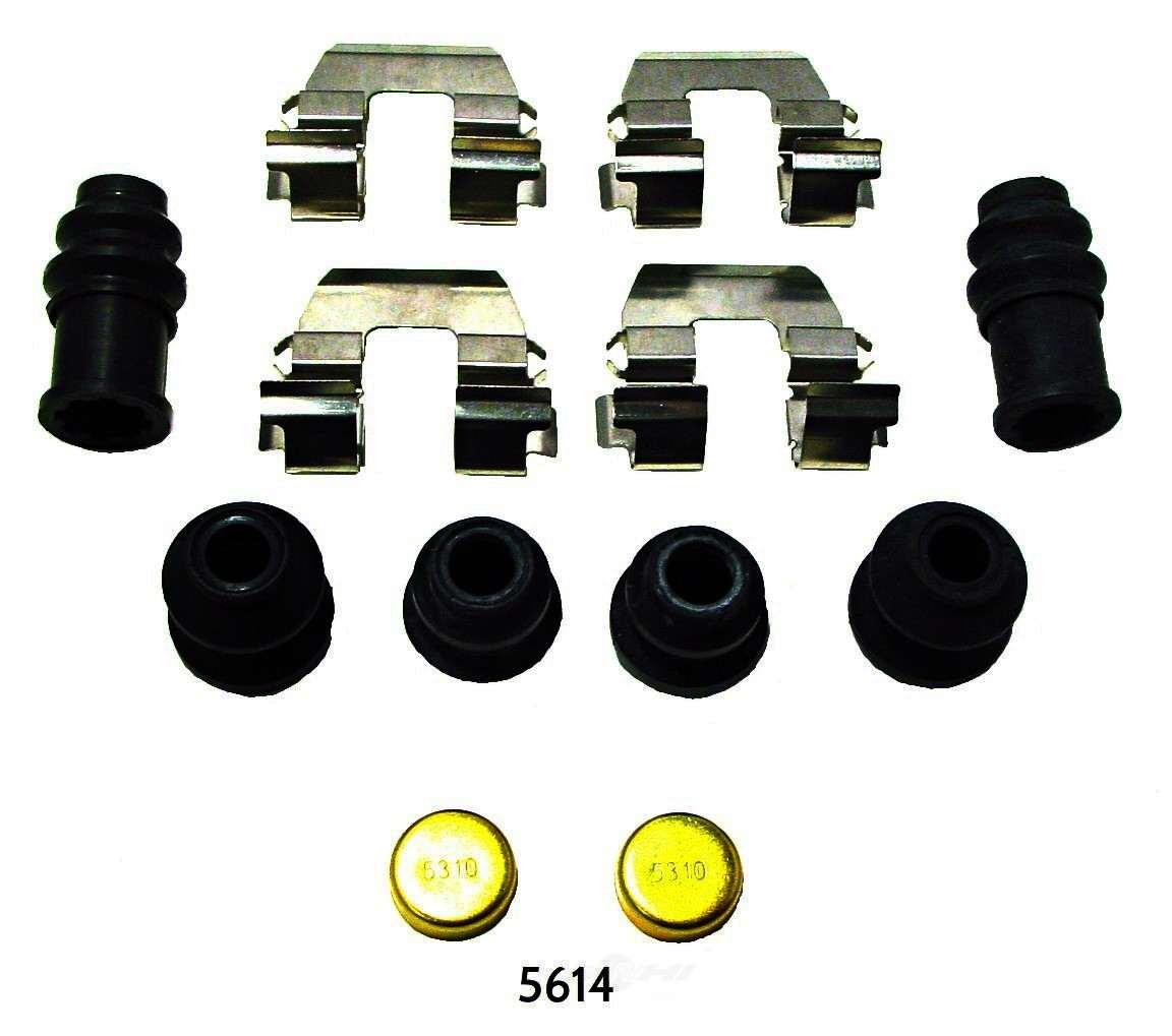 BETTER BRAKE PARTS - Disc Brake Hardware Kit (Rear) - BEB 5614
