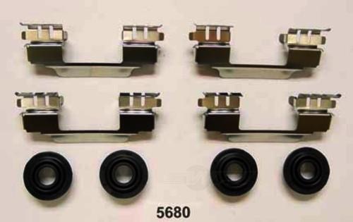 BETTER BRAKE PARTS - Disc Brake Hardware Kit (Rear) - BEB 5680