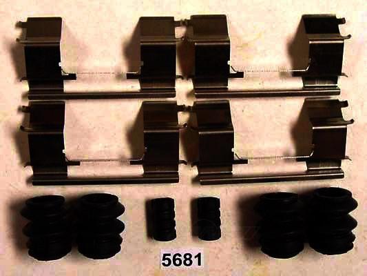 BETTER BRAKE PARTS - Disc Brake Hardware Kit (Front) - BEB 5681