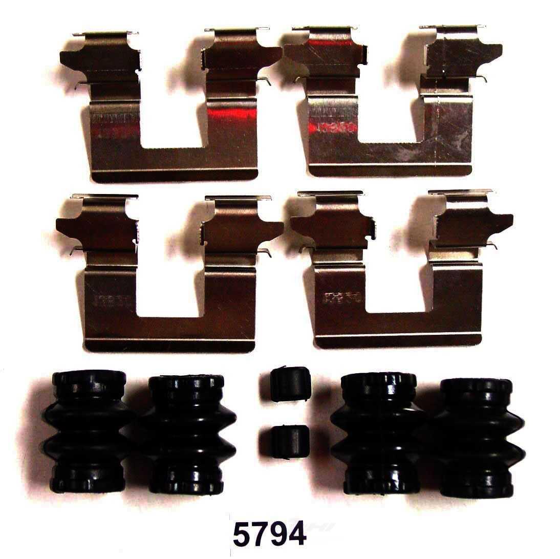 BETTER BRAKE PARTS - Disc Brake Hardware Kit (Rear) - BEB 5794