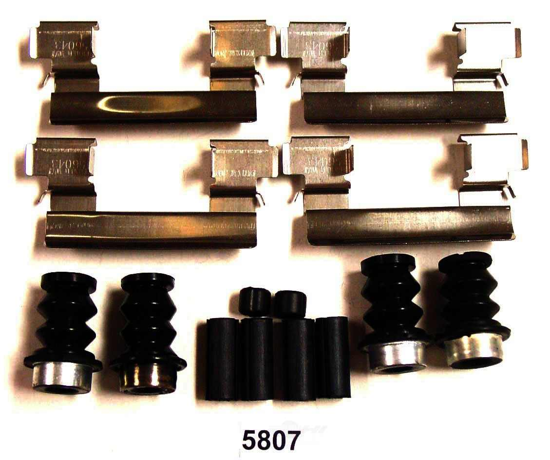 BETTER BRAKE PARTS - Disc Brake Hardware Kit (Front) - BEB 5807