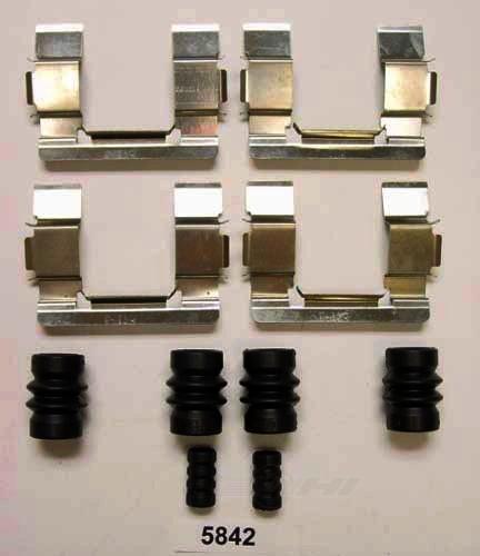 BETTER BRAKE PARTS - Disc Brake Hardware Kit (Front) - BEB 5842
