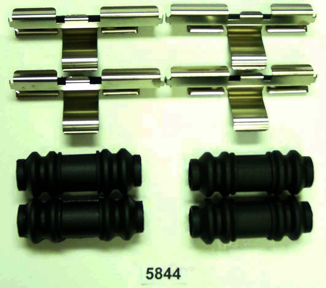 BETTER BRAKE PARTS - Disc Brake Hardware Kit (Rear) - BEB 5844