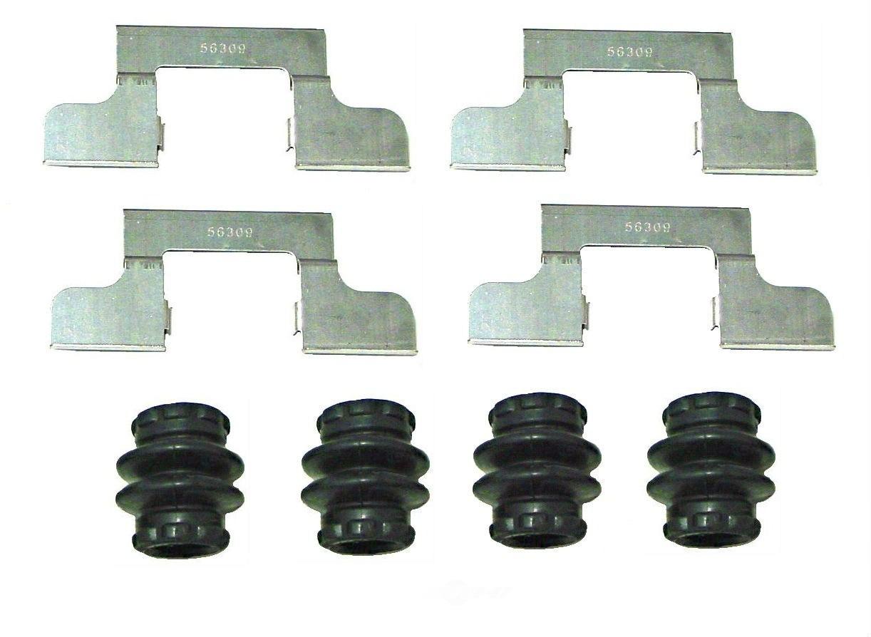 BETTER BRAKE PARTS - Disc Brake Hardware Kit (Rear) - BEB 5869