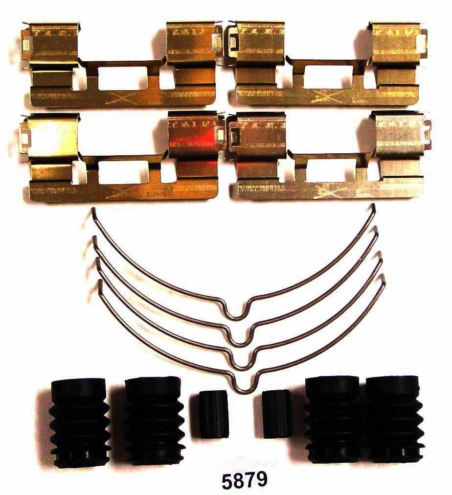 BETTER BRAKE PARTS - Disc Brake Hardware Kit (Front) - BEB 5879