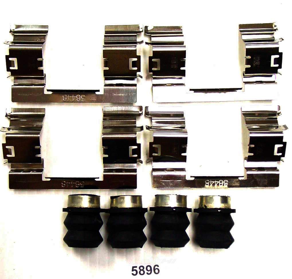 BETTER BRAKE PARTS - Disc Brake Hardware Kit (Front) - BEB 5896