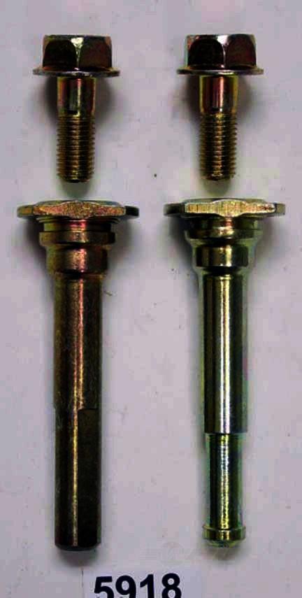BETTER BRAKE PARTS - Disc Brake Caliper Guide Pin Kit (Front) - BEB 5918