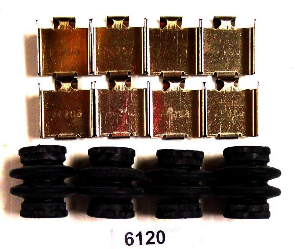 BETTER BRAKE PARTS - Disc Brake Hardware Kit (Front) - BEB 6120