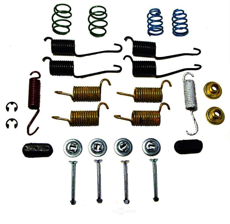 carlson quality brake parts drum brake hardware kit part number h7283. Black Bedroom Furniture Sets. Home Design Ideas