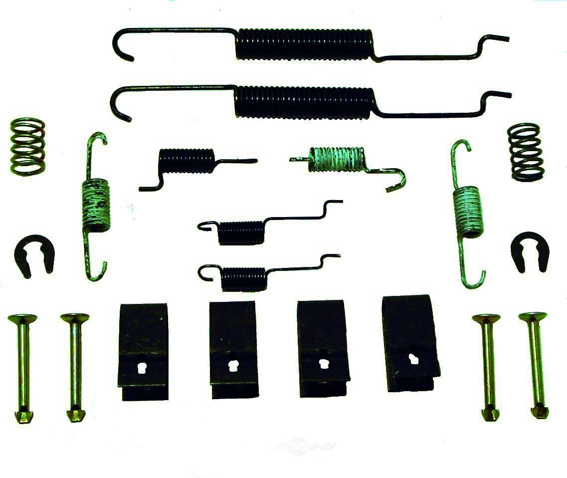 BETTER BRAKE PARTS - Drum Brake Hardware Kit (Rear) - BEB 7291