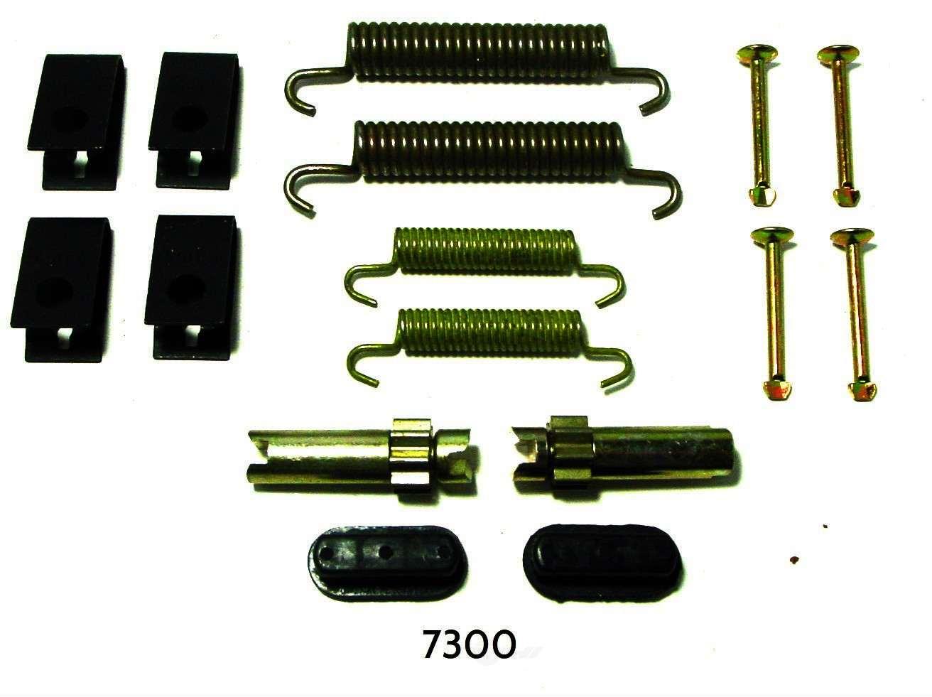 BETTER BRAKE PARTS - Parking Brake Hardware Kit - BEB 7300