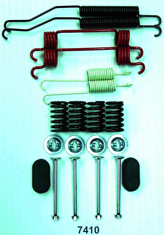 BETTER BRAKE PARTS - Drum Brake Hardware Kit (Rear) - BEB 7410