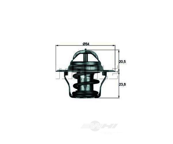 BEHR THERMOT-TRONIK THERMOSTATS - Behr Thermot-Tronik OEM Engine Coolant Thermostat - BEH TX 14 80D