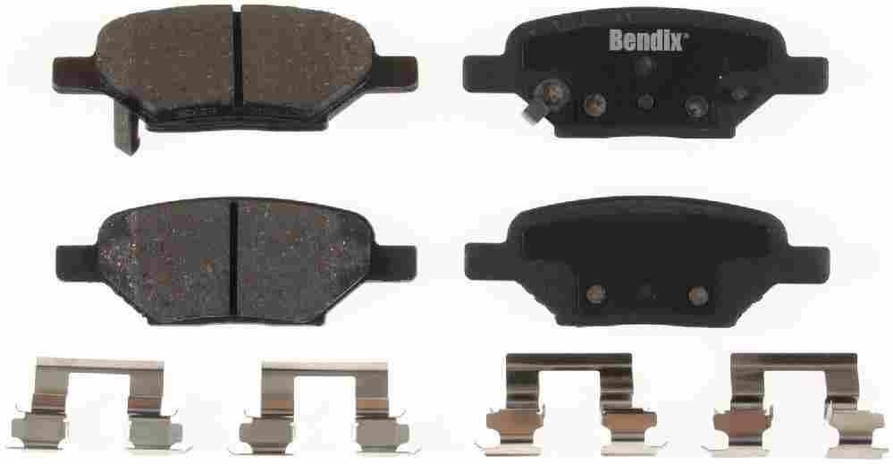 BENDIX - Bendix CT-3 Disc Brake Pad (Rear) - BEN D1033CT