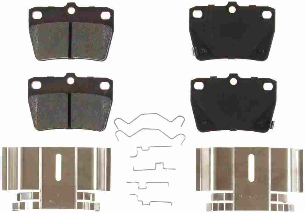 BENDIX - Bendix CQ Disc Brake Pad (Rear) - BEN D1051