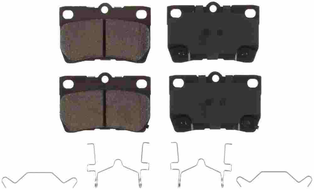 BENDIX - Bendix CQ Disc Brake Pad (Rear) - BEN D1113