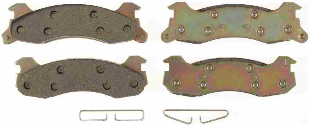 BENDIX - CQ Ceramic Disc Brake Pad (Rear) - BEN D204