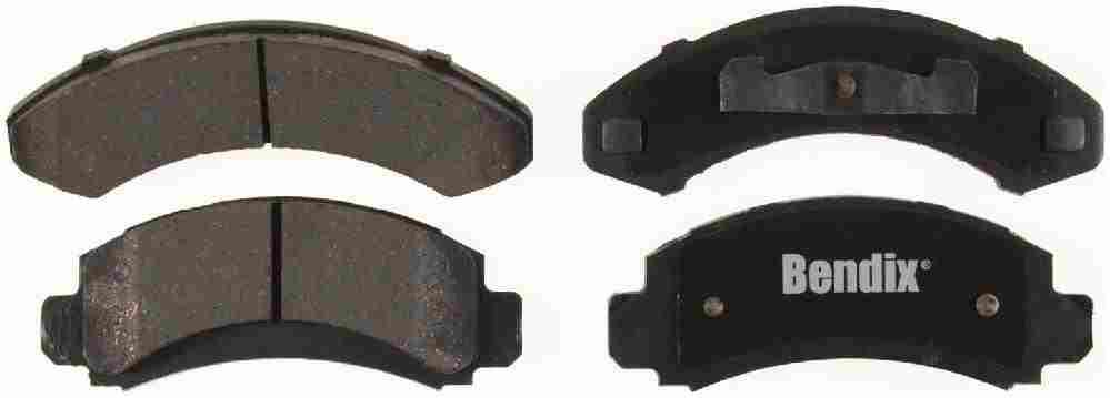 BENDIX - Bendix CT-3 Disc Brake Pad (Front) - BEN D205CT