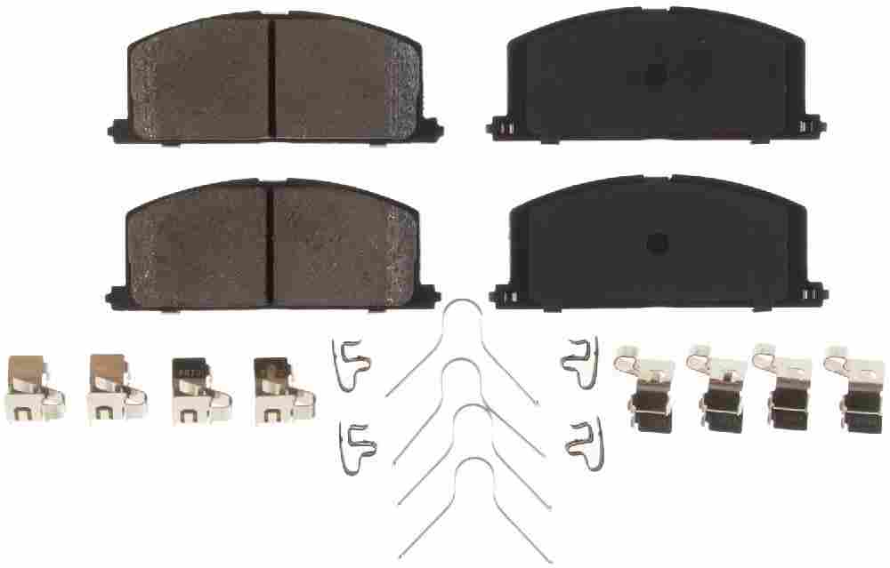 BENDIX - CQ Ceramic Disc Brake Pad (Front) - BEN D242