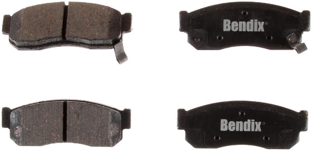 BENDIX - Bendix CT-3 Disc Brake Pad (Front) - BEN D275CT