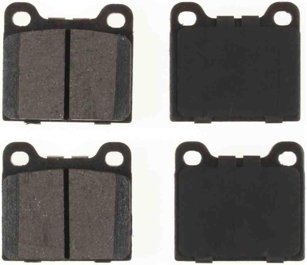 BENDIX - CQ Ceramic Disc Brake Pad (Rear) - BEN D31