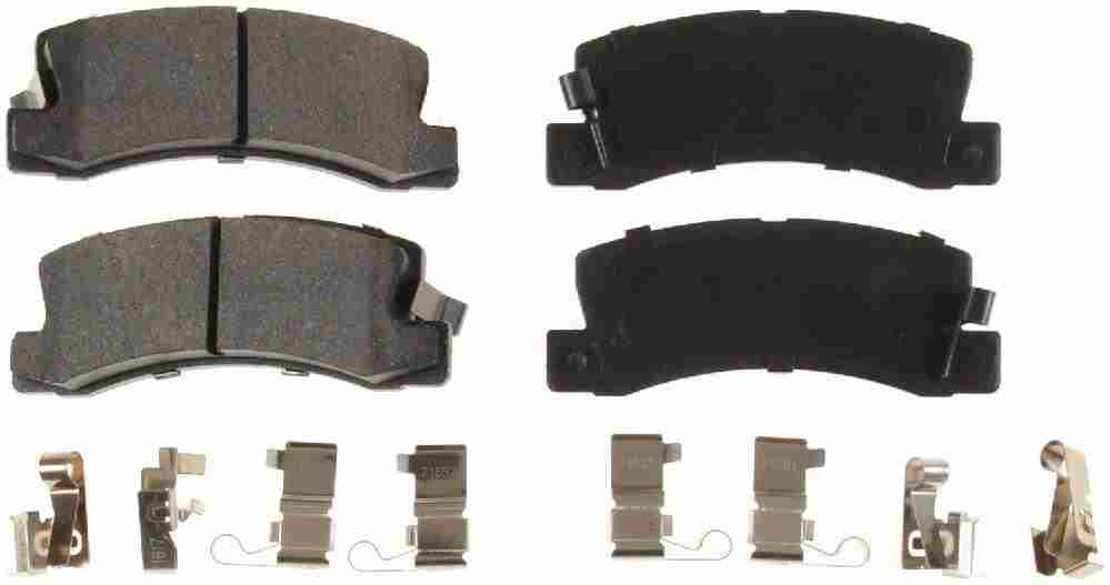 BENDIX - Bendix CQ Disc Brake Pad (Rear) - BEN D325