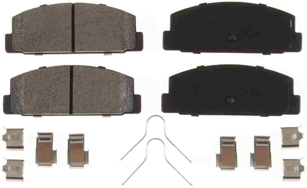 BENDIX - CQ Ceramic Disc Brake Pad (Rear) - BEN D332