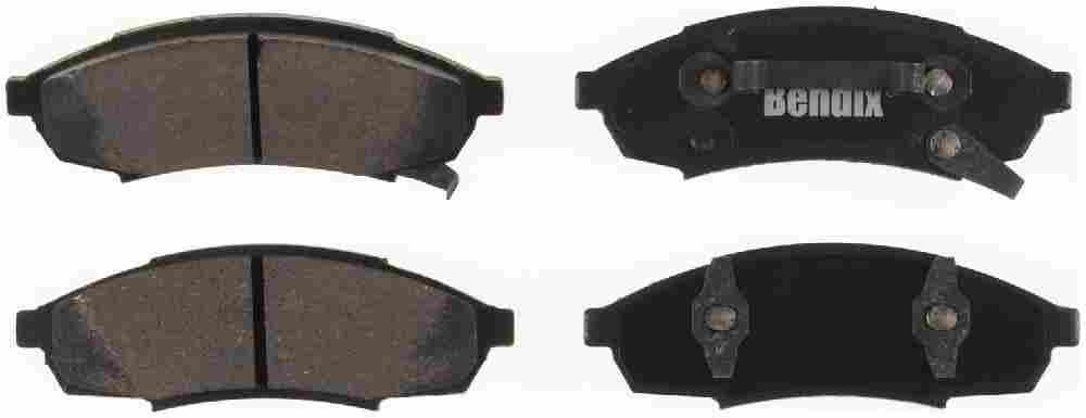 BENDIX - Bendix CT-3 Disc Brake Pad (Front) - BEN D376CT