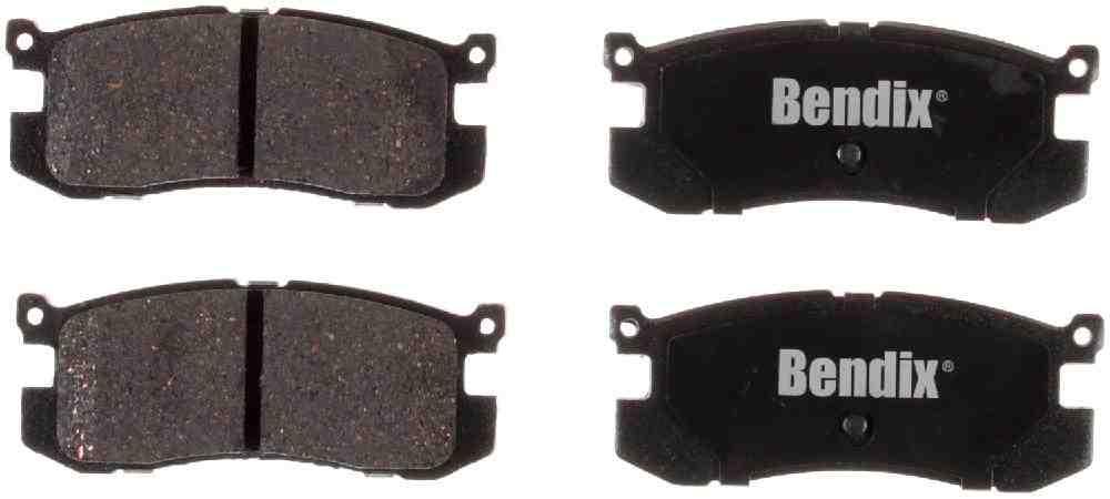 BENDIX - Bendix CT-3 Disc Brake Pad (Rear) - BEN D400CT