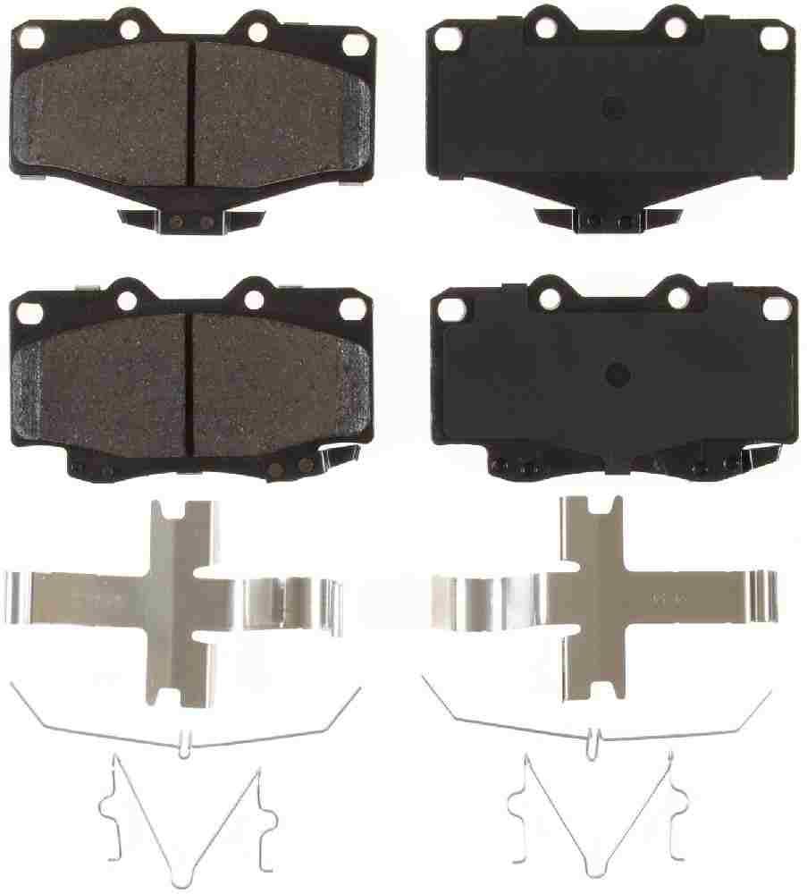 BENDIX - Bendix CQ Disc Brake Pad (Front) - BEN D436
