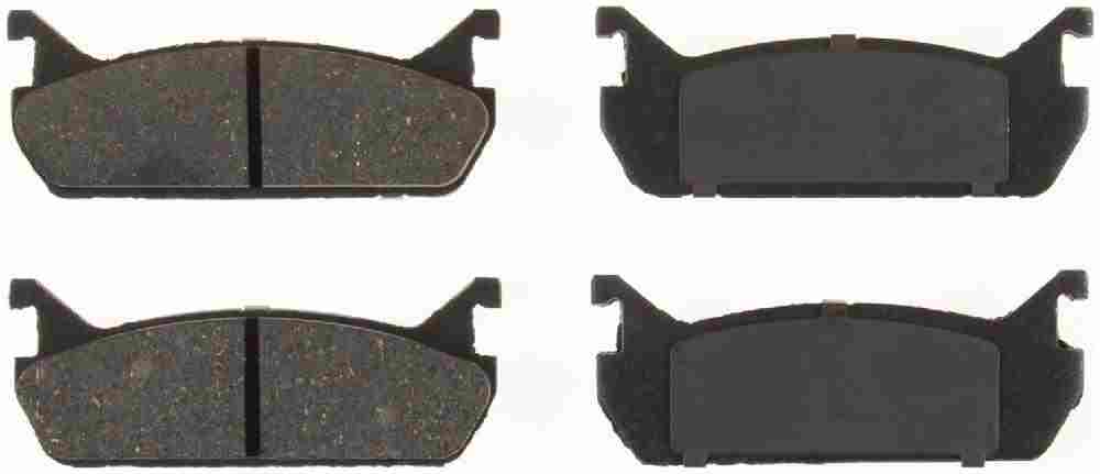 BENDIX - Bendix CQ Disc Brake Pad (Rear) - BEN D458