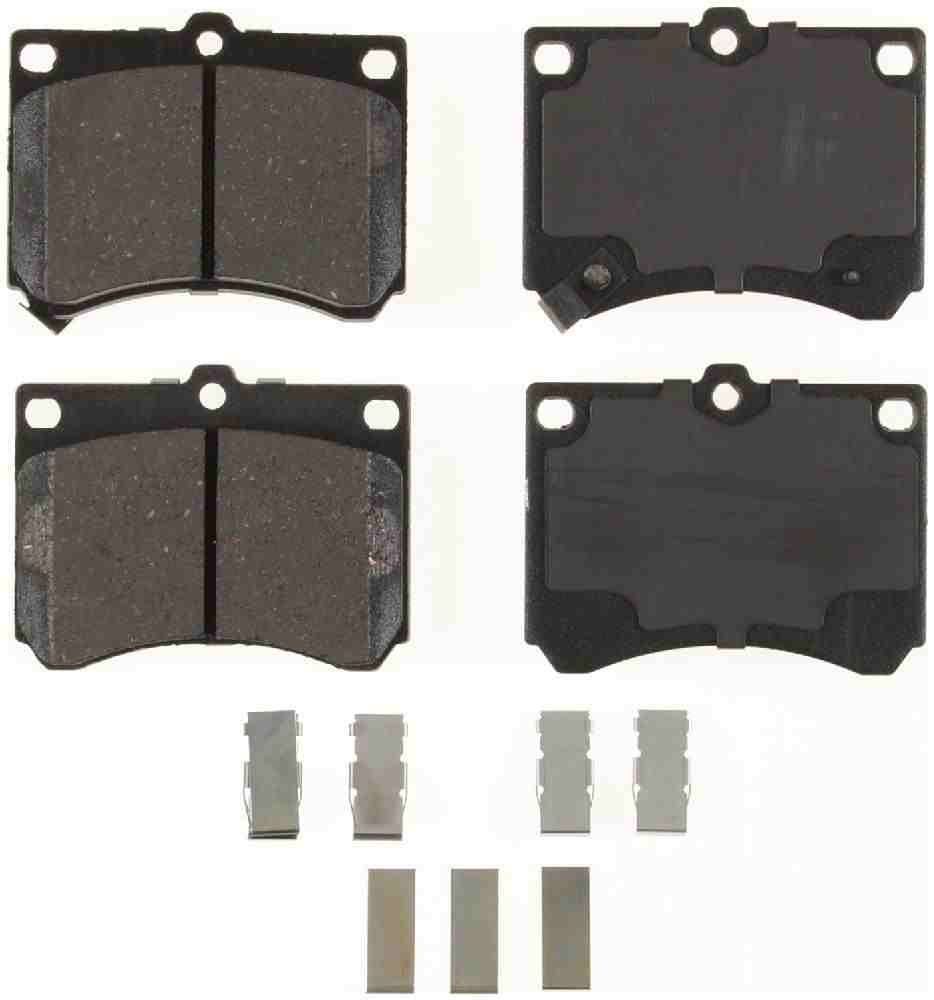 BENDIX - Bendix CT-3 Disc Brake Pad (Front) - BEN D473CT