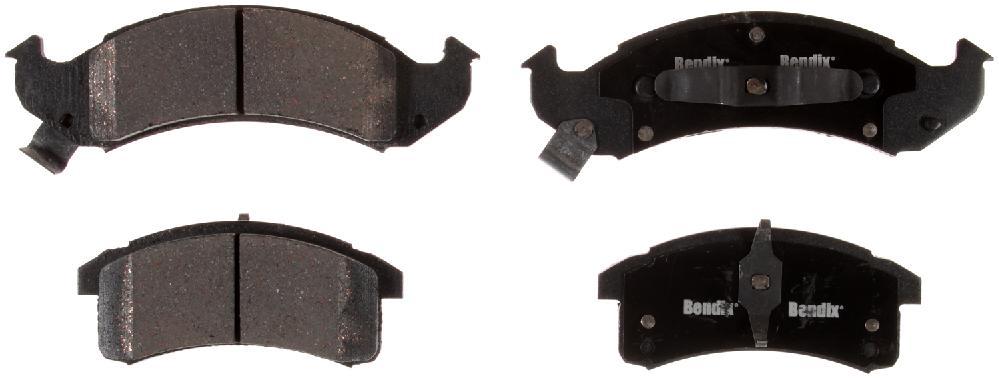 BENDIX - Bendix CT-3 Disc Brake Pad (Front) - BEN D505CT