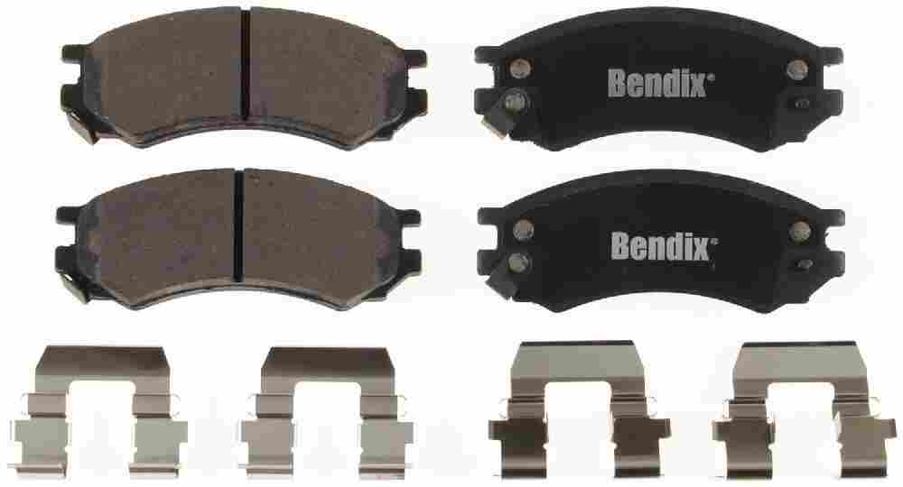 BENDIX - Bendix CT-3 Disc Brake Pad (Front) - BEN D507CT
