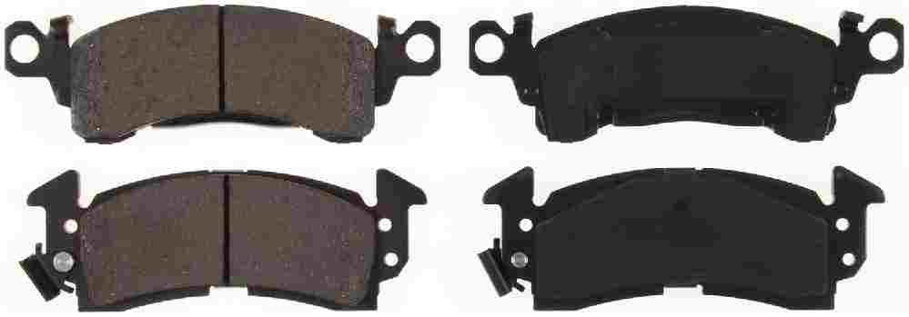 BENDIX - CQ Ceramic Disc Brake Pad (Front) - BEN D52S